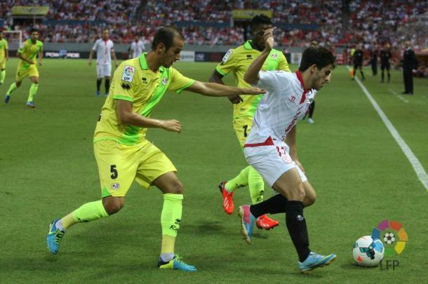 Sevilla - Rayo, temporada 2013 - 2014. / Fotografía: LaLiga Santander.