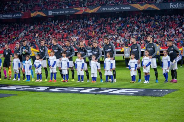 El Sevilla FC se hace fuerte en Europa League. Foto: sevillafc.es
