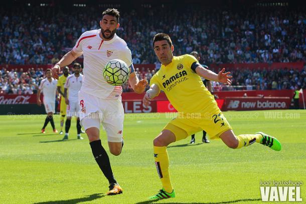 Lance del partido ante el Villarreal| Imagen: Juan Ignacio Lechuga (Vavel.com)