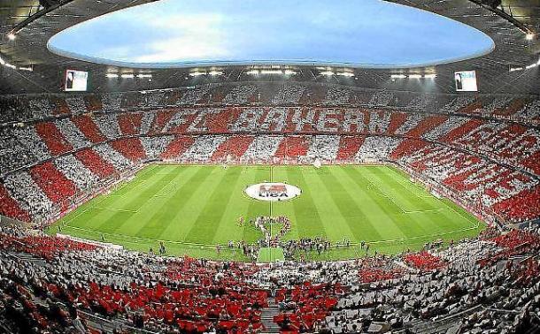 El Allianz Arena, fortín germano.