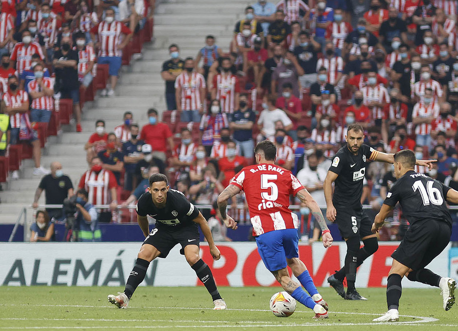 Argentino Rodrigo De Paul é um dos reforços para esta temporada (Foto: Alex Marín/Atlético de Madrid)