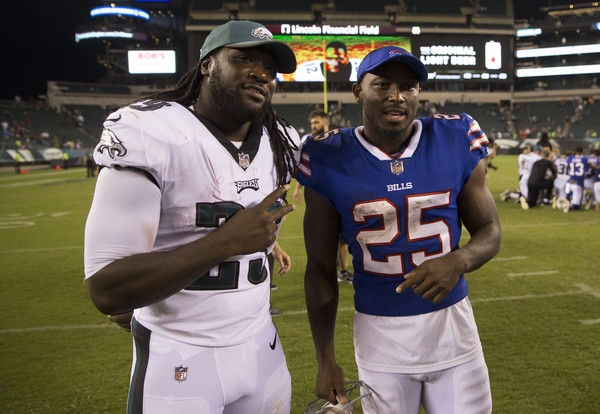 McCoy is the main target for the Jets defense. Photo: Mitchell Leff/Getty Images North America