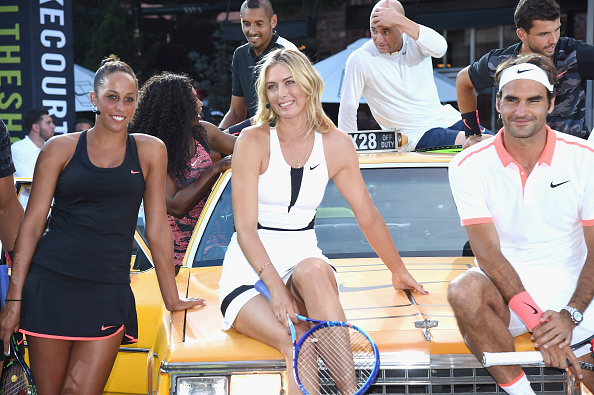 Sharapova at a Nike event last year (Photo: Getty Images/Gary Gershoff)