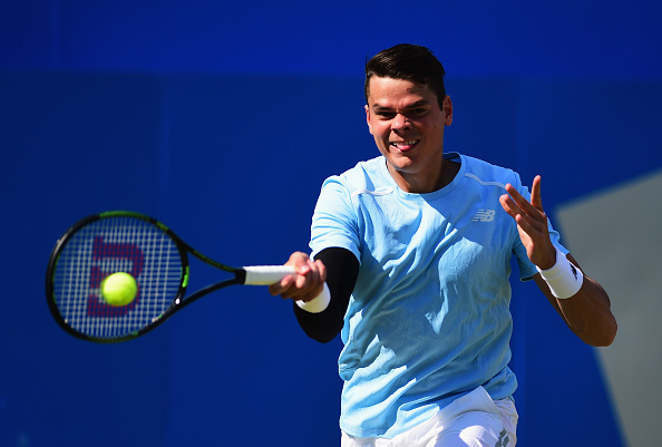 Raonic at Queen's last year (Getty/Sean Botterill)