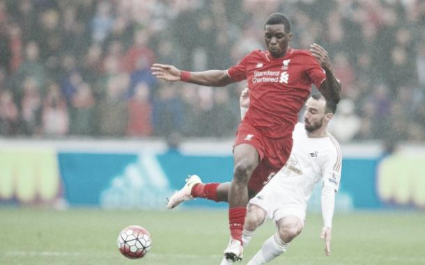 Ojo's injury is not believed to be serious (image: empireofthekop.com)