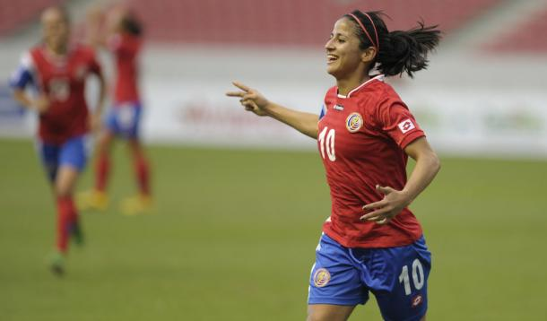 Shirly Cruz will look to lead by example for Costa Rica | Source: lanacion.com