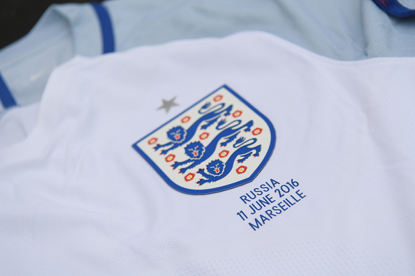 The England shirts for tonight's game | Photo: Michael Regan/The FA