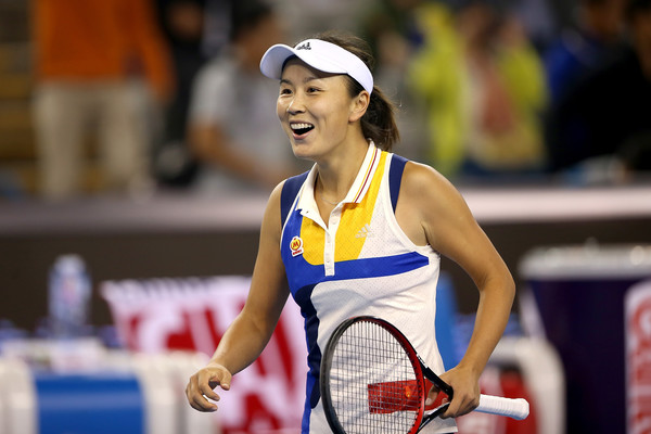 Peng Shuai will be looking to excel in front of her home crowd | Photo: Emmanuel Wong/Getty Images AsiaPac