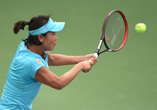 Peng Shuai would be happy with her 2017 so far | Photo: Tom Dulat/Getty Images Europe