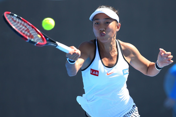 Zhang Shuai in action at the Australian Open | Photo: Michael Dodge/Getty Images AsiaPac