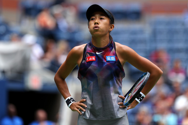 Zhang Shuai would rue her missed opportunities today | Photo: Richard Heathcote/Getty Images North America