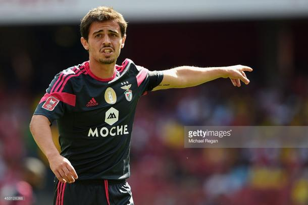 Silva stated he knew he had no future at Benfica after playing at full-back in training. Source - Getty.