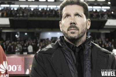 Simeone, técnico del Atlético | Foto: Juan Ignacio Lechuga - VAVEL