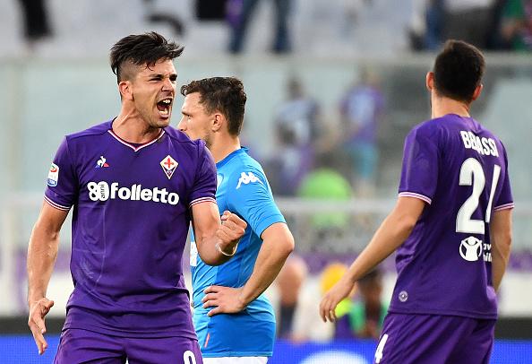 Simeone marcou seu 11º, 12º e 13º gols na Serie A 17-18 (Foto: