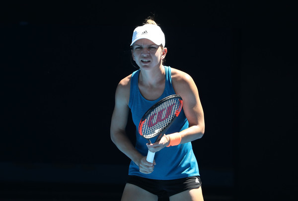 Simona Halep would have a tough opener here in Melbourne | Photo: Scott Barbour/Getty Images AsiaPac