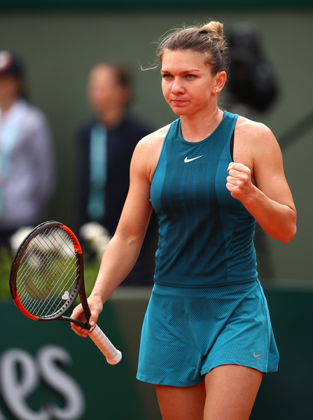 Simona Halep will be pleased with how she rebounded from the disappointing first set today | Photo: Cameron Spencer/Getty Images Europe