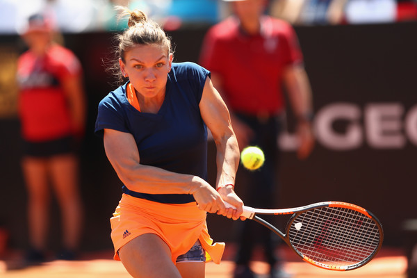 Simona Halep in action | Photo: Michael Steele/Getty Images Europe