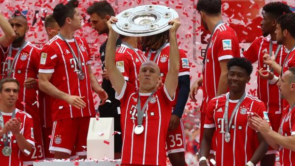 Bayern Múnich, campeón de liga | Foto: @FCBayernEs