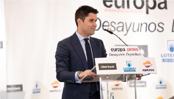 David Aganzo, presidente de la AFE. Fuente: AFE