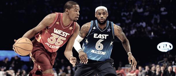 La rivalidad entre costa Este y Oeste debe reavivarse. | Fotografía: NBA.com