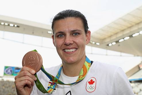 Christine Sinclair is the oldest player on the roster at the age of 33 | Source: Robert Cianflone - FIFA/FIFA via Getty Images