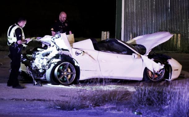 Auto Ferrari Blanco. Foto: Medio tiempo