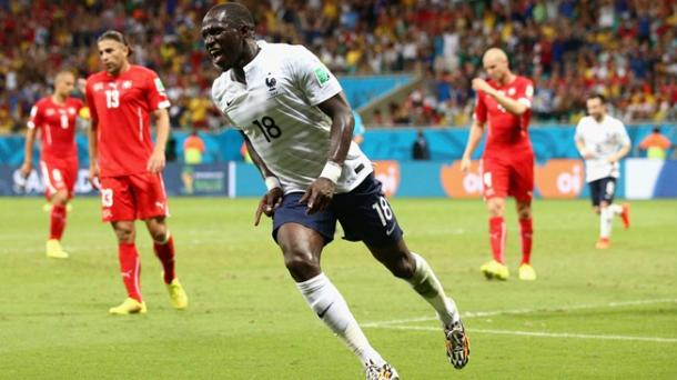 Sissoko scores at World Cup in 2014 (Photo: fifa.com)