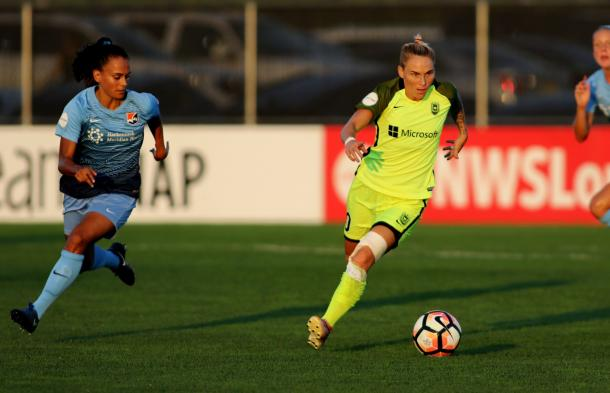 Sam Kerr scores four goals in Sky Blue FC comeback win