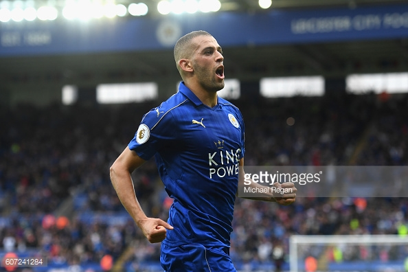 Slimani has performed well since his arrival from Sporting Lisbon in the summer / Getty Images/ Michael Regan