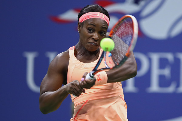 Sloane Stephens in action | Photo: Clive Brunskill/Getty Images North America