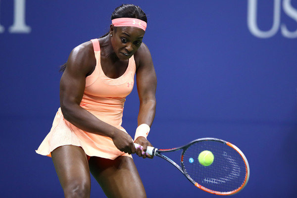 Sloane Stephens in action during the match | Photo: Clive Brunskill/Getty Images North America