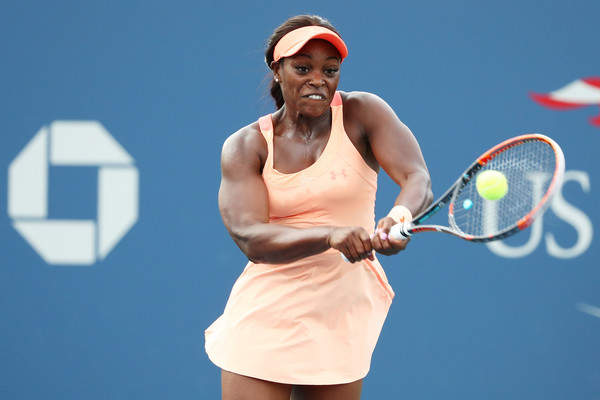 Sloane Stephens in action | Photo: Al Bello/Getty Images North America
