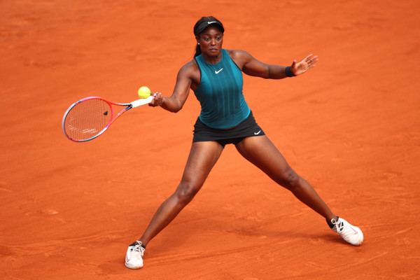 Stephens edged closer than ever to her second Major title when she led by a set and a break | Photo: Clive Brunskill/Getty Images Europe