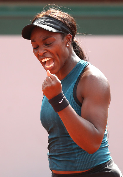 It was all about Stephens in the one-sided opening set | Photo: Matthew Stockman/Getty Images Europe
