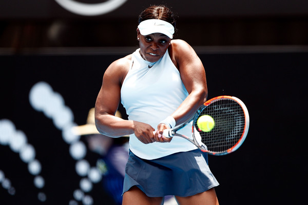 Sloane Stephens played yet another poor match | Photo: Zak Kaczmarek/Getty Images AsiaPac