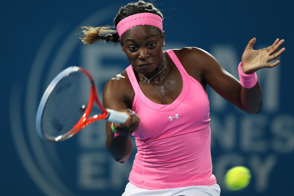 Stephens in action at the 2013 Brisbane International | Photo: Chris Hyde/Getty Images AsiaPac