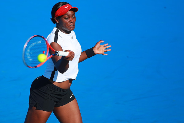 It was yet another disappointing result for Sloane Stephens, having not made a semifinal since her triumph at Flushing Meadows | Photo: Hector Vivas/Getty Images South America