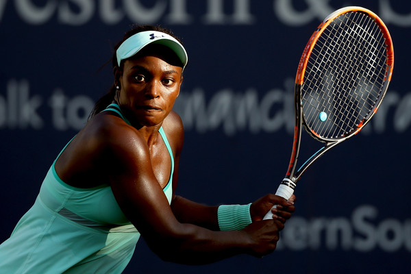 Sloane Stephens in action at the Western and Southern Open | Photo: Matthew Stockman/Getty Images Europe