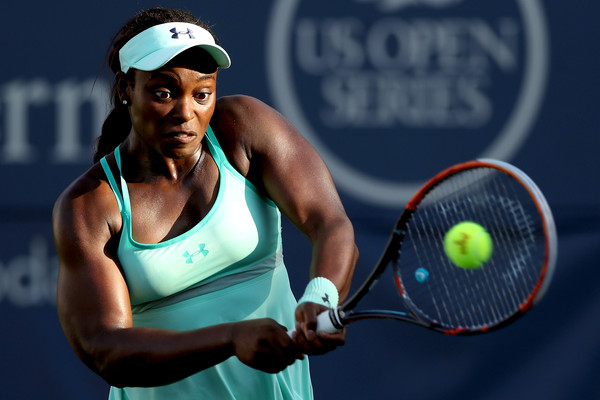 Sloane Stephens in action | Photo: Matthew Stockman/Getty Images North America