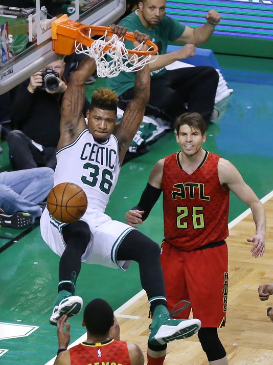 Marcus Smart is one of the great talents in the stacked backcourt (Photo: Curtis Compton, AP)