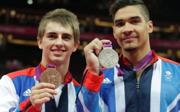 Can Max Whitlock (left) and Louis Smith (right) win Team GB's first gold medal in gymnastics? | Photo: Getty Images