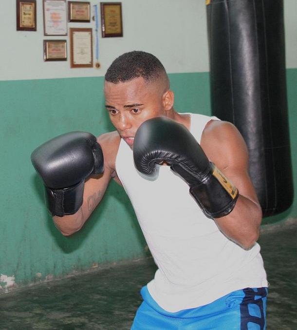 Solís entrenando en Piñonal | Foto: David Otamendi