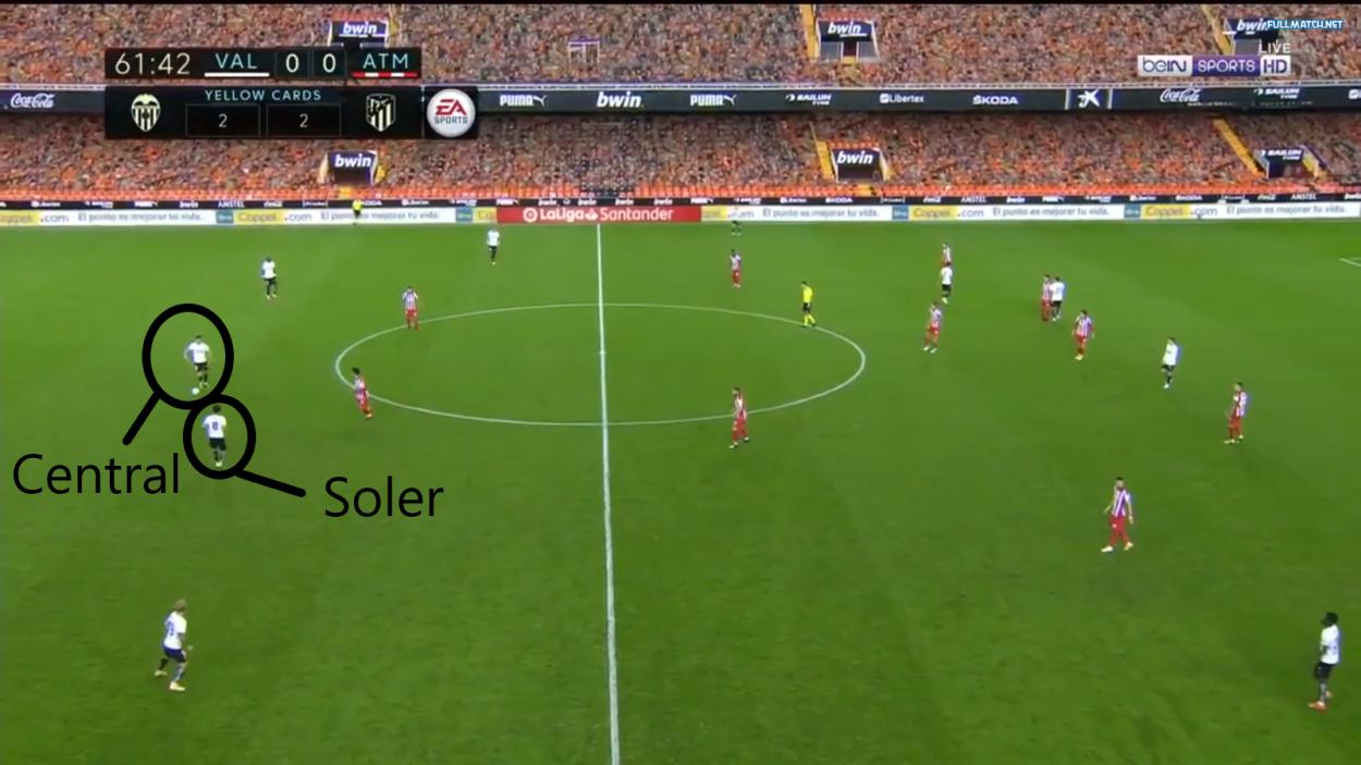 Soler, en la saga para salir limpio. Fuente: Fullmatchsports.co
