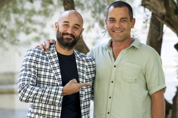 Álvaro Vizcaíno y Alain Hernández. CARLOS ALVAREZ