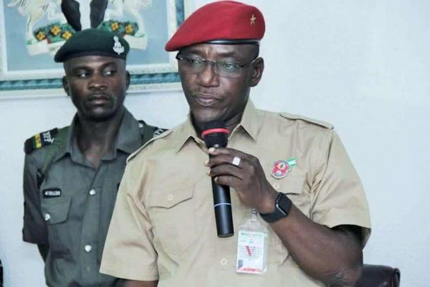 Minister for Sports and Youth development, Barr. Solomon Dalung
