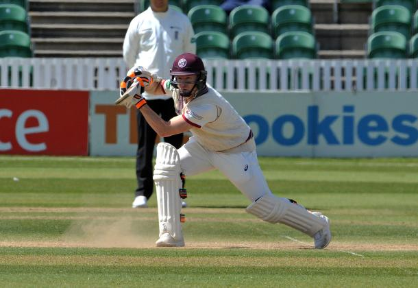 It was a battling performances from Somerset to secure a draw. | Image source: Somerset CCC