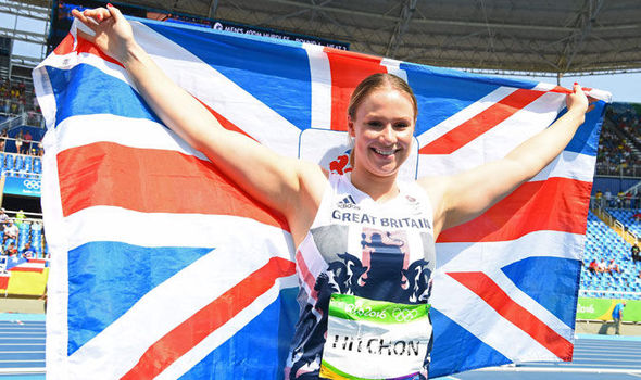 Team GB's Sophie Hitchon takes bronze in the hammer. | Photo: Getty Images