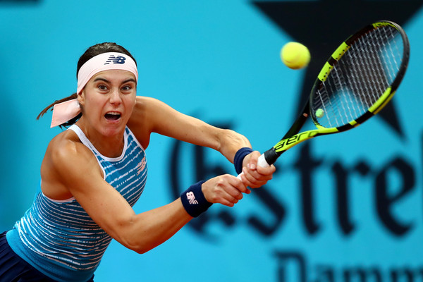 Sorana Cirstea in action at the Mutua Madrid Open | Photo: Clive Rose/Getty Images Europe