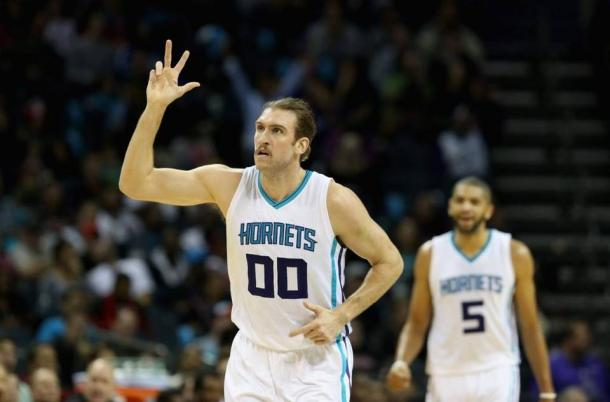 Spencer Hawes will now be draining threes in Milwaukee. Photo: Streeter Lecka Getty Images
