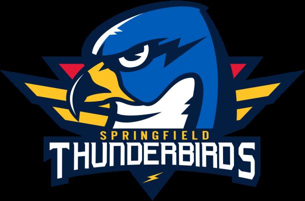 Logo de los Springfield Thunderbirds / StickPNG